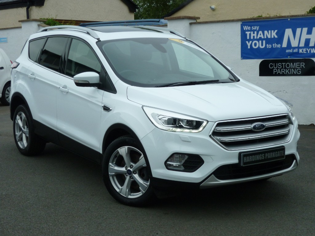 used Ford Kuga TITANIUM X-PACK 1.5 TDCI + AA WARRANTY used cars in wirral-cheshire