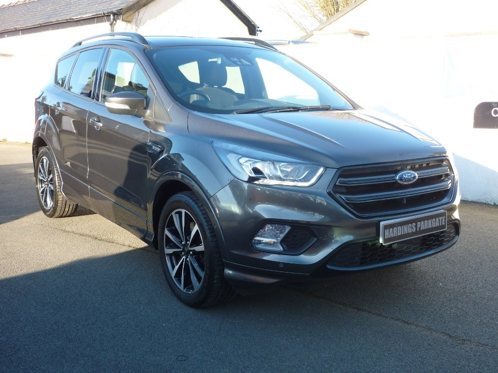 used Ford Kuga ST-LINE TDCI AUTO WITH 2 YEARS FREE SERVICING* used cars in wirral-cheshire