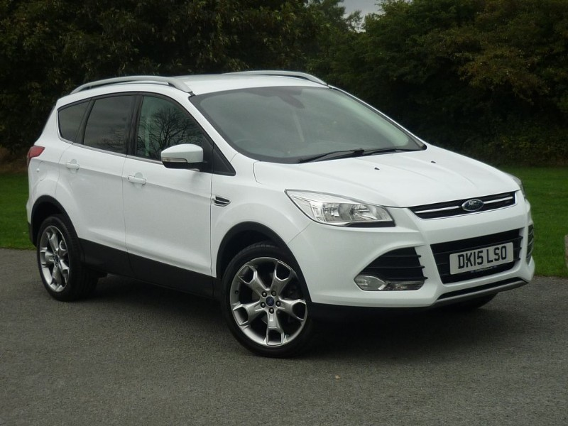 used Ford Kuga TITANIUM TDCI EXTERIOR PACK in wirral-cheshire