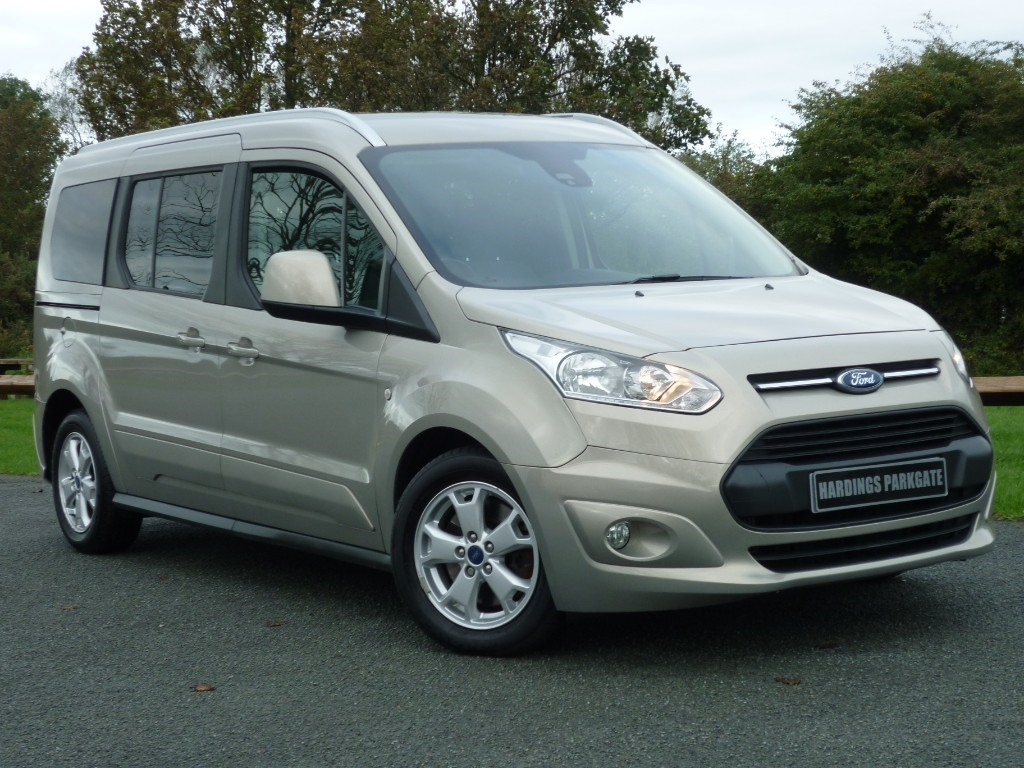used Ford Tourneo Connect GRAND TITANIUM TDCI 120 in wirral-cheshire