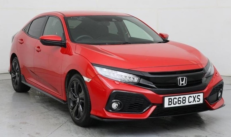 used Honda Civic VTEC SPORT in wirral-cheshire