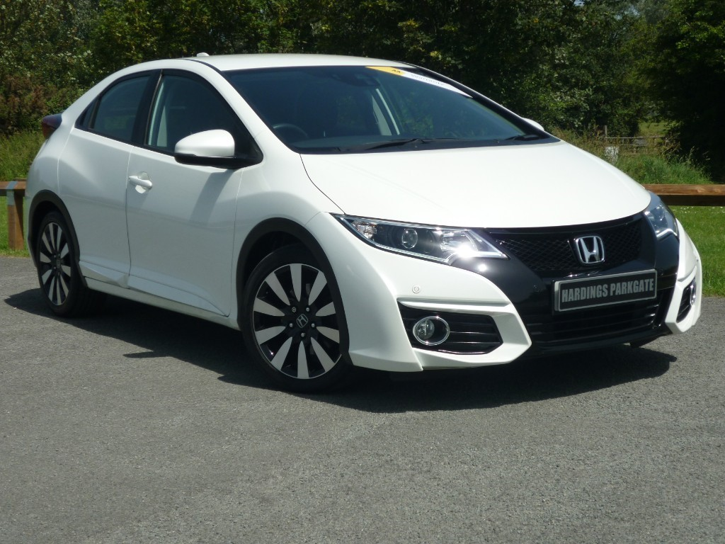 used Honda Civic I-VTEC SE PLUS NAVI AUTO in wirral-cheshire