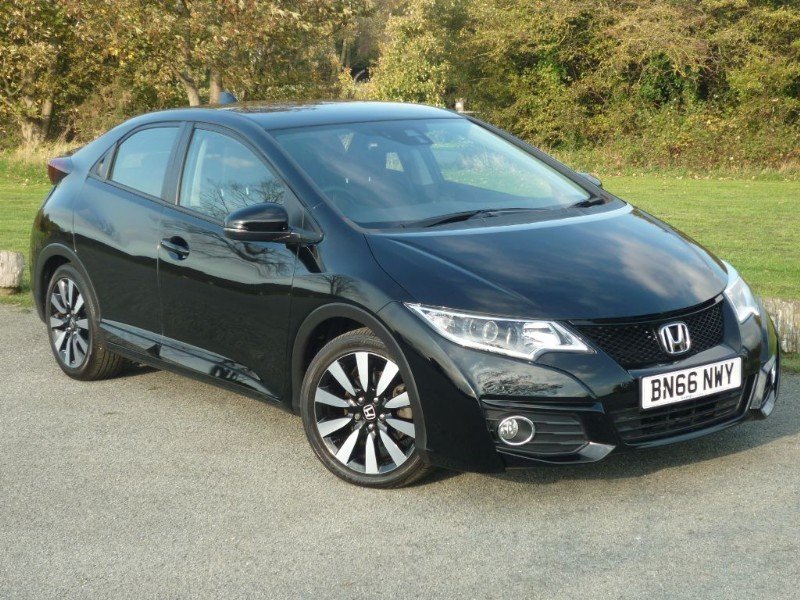 used Honda Civic I-VTEC SE PLUS NAVI AUTO in wirral-cheshire