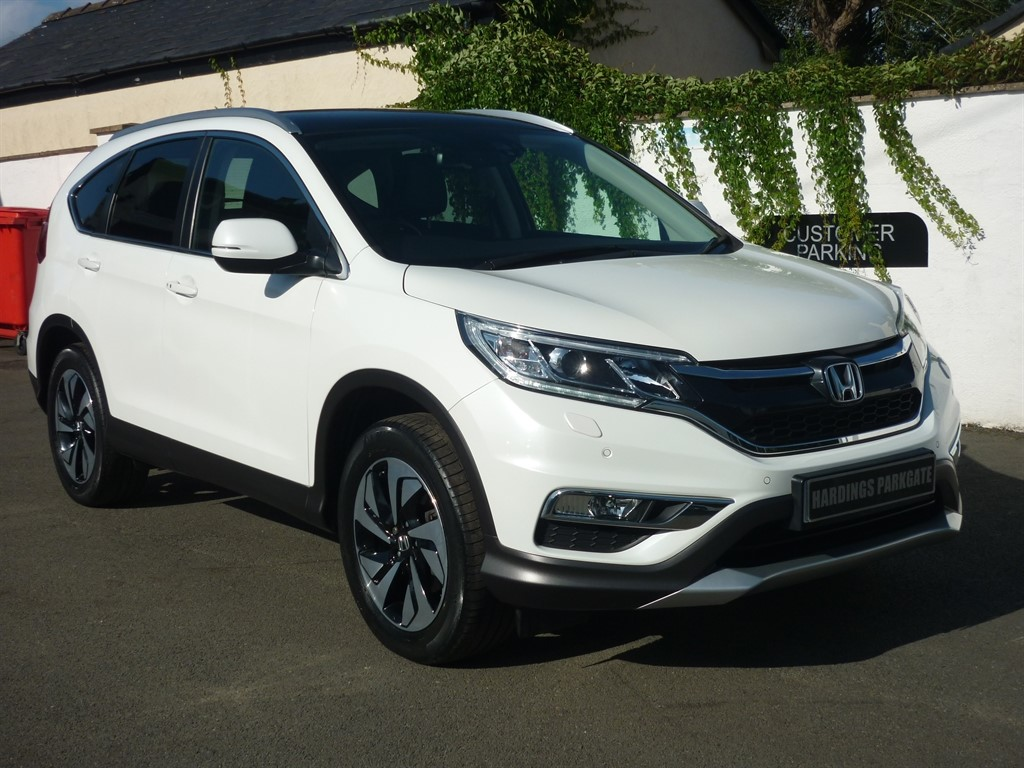 used Honda CR-V I-DTEC EX AUTO 2 YEARS FREE SERVICING* used cars in wirral-cheshire