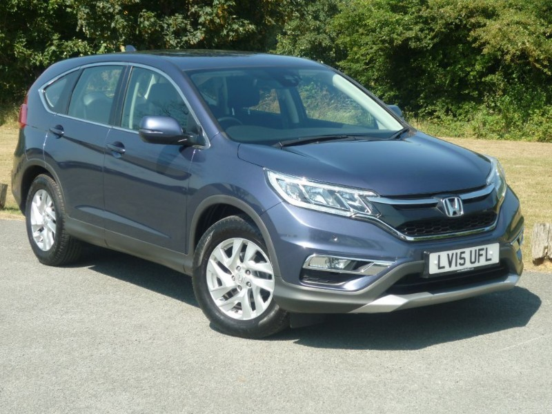 used Honda CR-V I-VTEC SE HONDA CONNECT in wirral-cheshire