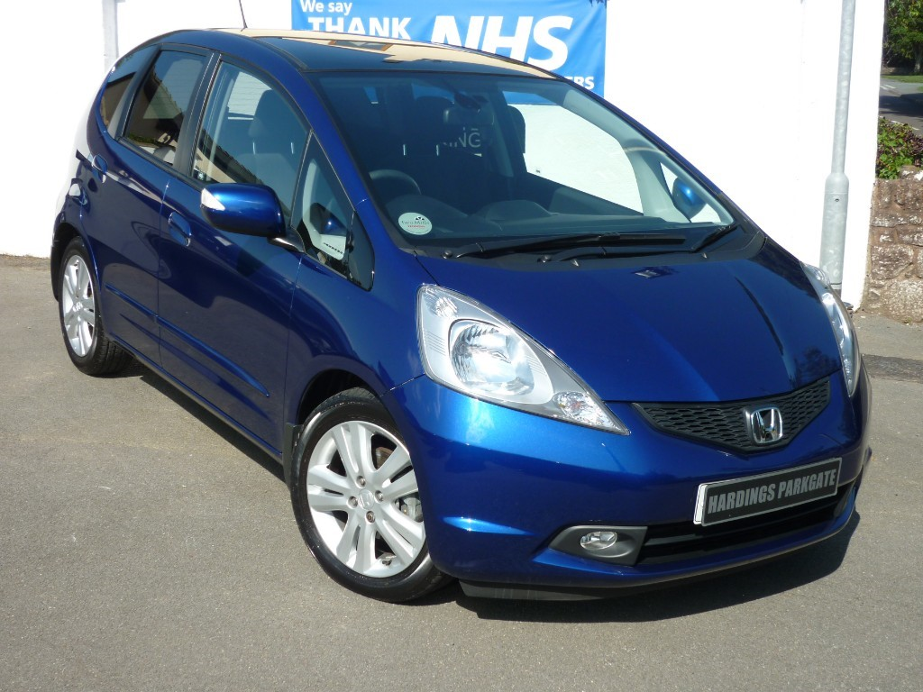 used Honda Jazz I-VTEC EX VERY LOW MILEAGE used cars in wirral-cheshire