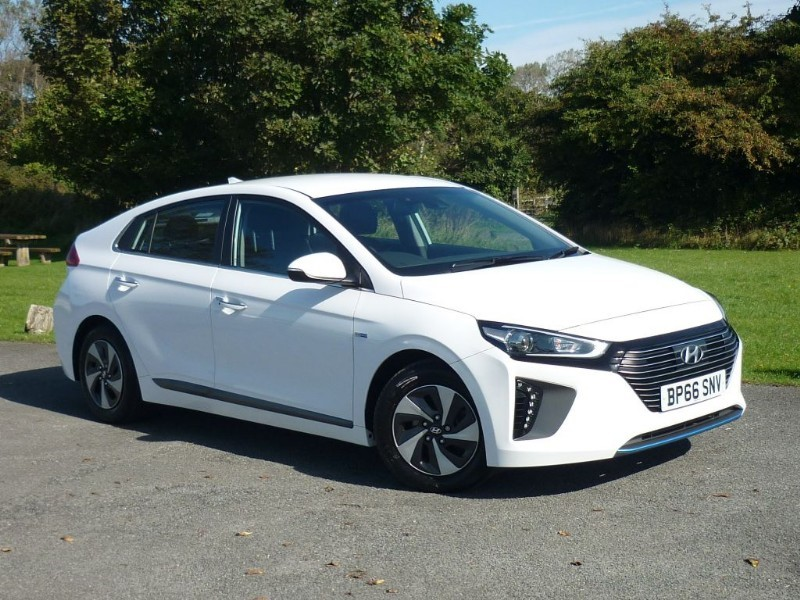 used Hyundai  IONIQ PREMIUM HYBRID in wirral-cheshire