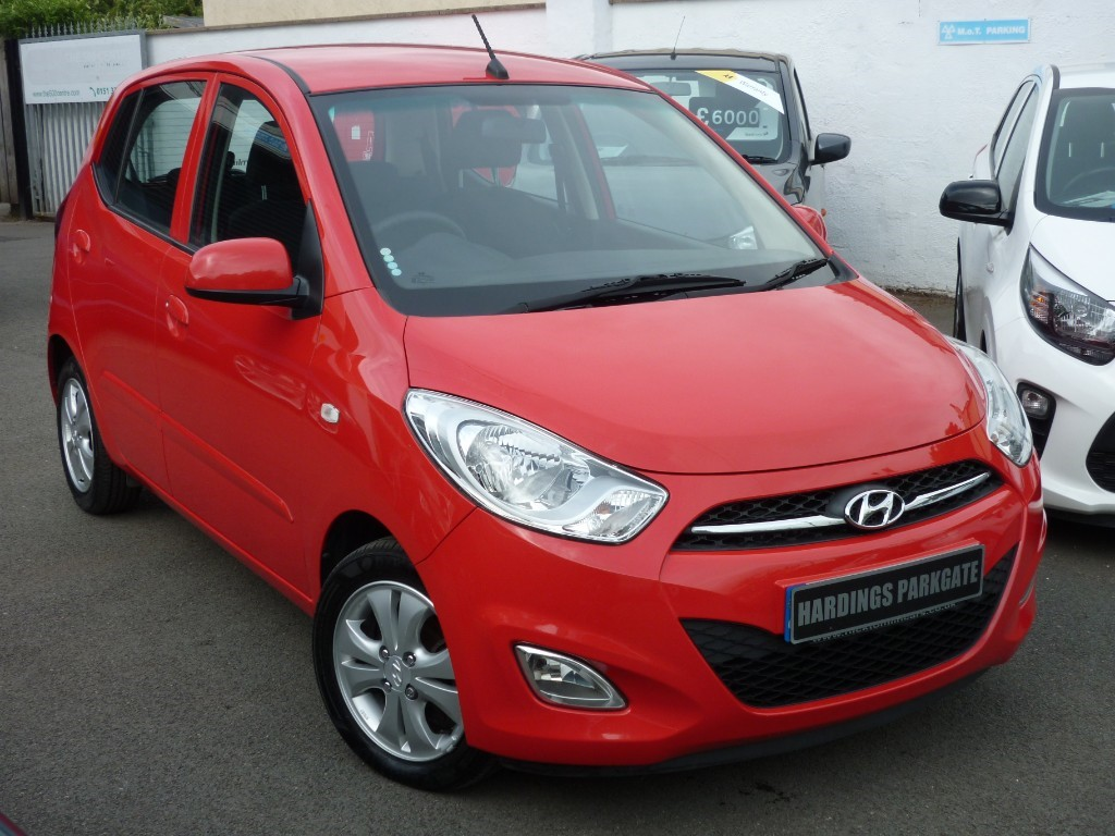 used Hyundai i10 ACTIVE + AA WARRANTY used cars in wirral-cheshire