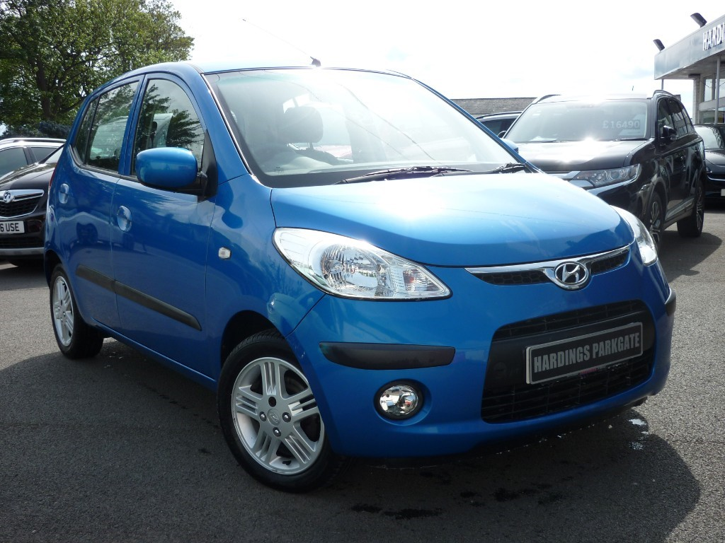 used Hyundai i10 COMFORT in wirral-cheshire