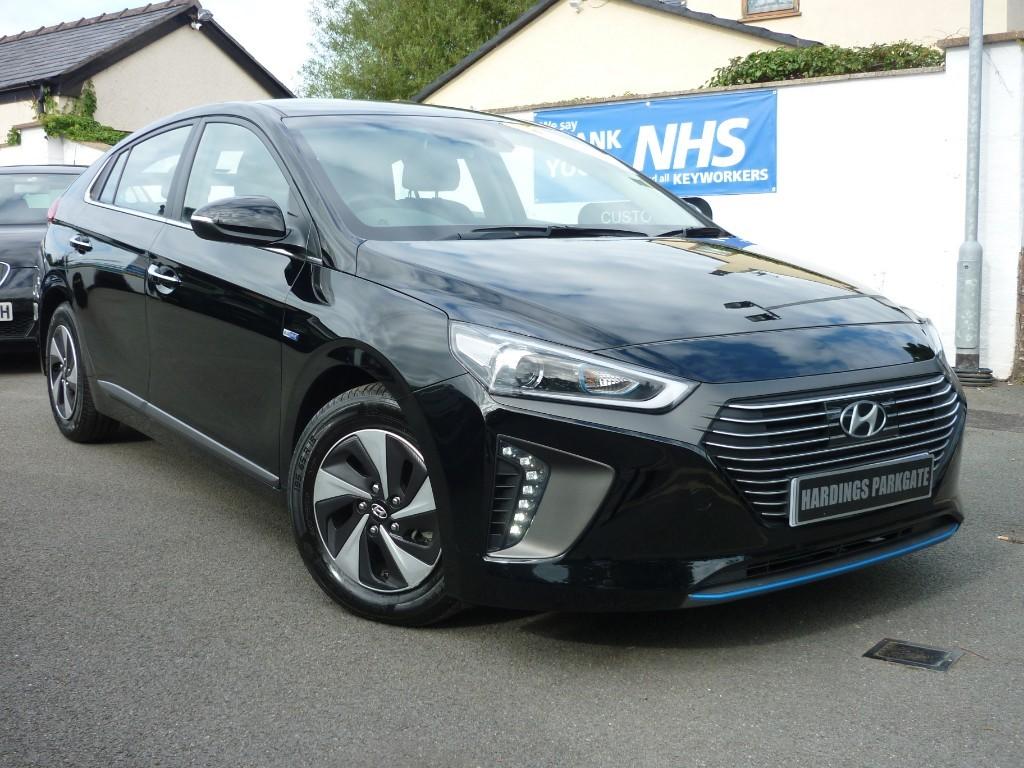 used Hyundai Ioniq PREMIUM + BALANCE OF HYUNDAI WARRANTY used cars in wirral-cheshire