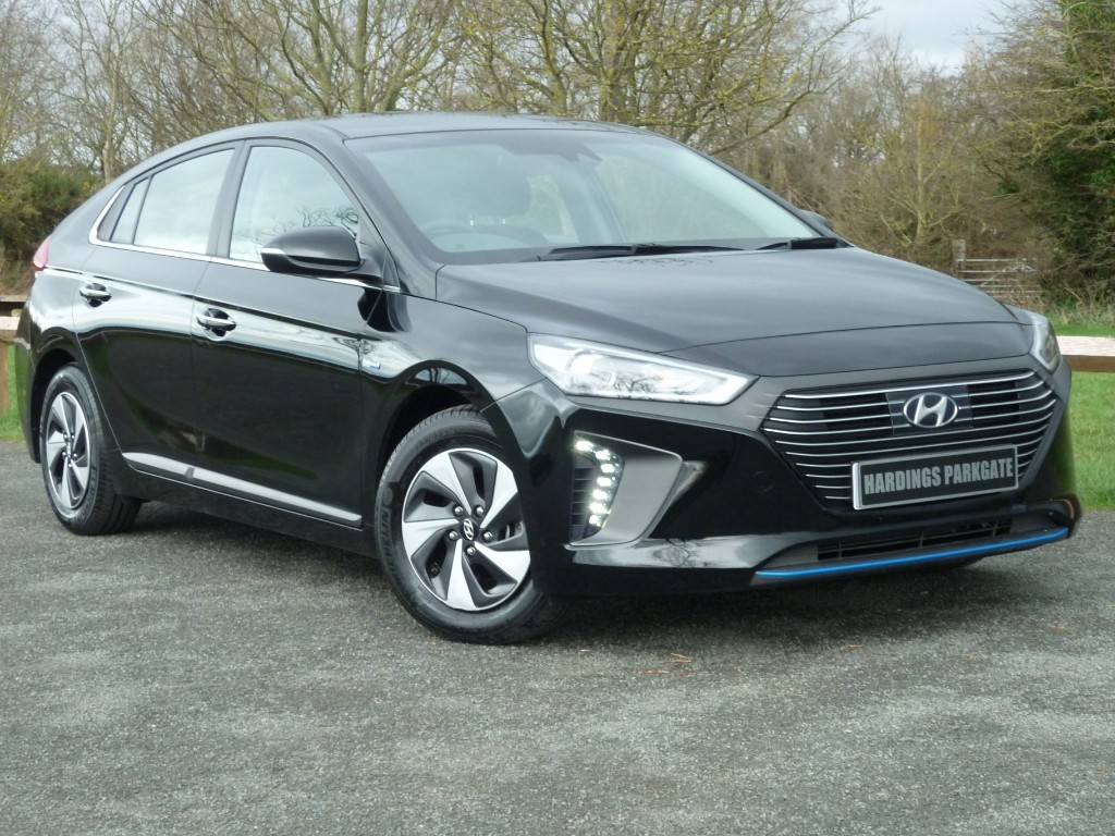 used Hyundai Ioniq PREMIUM + BALANCE OF HYUNDAI WARRANTY used cars in wirral-cheshire