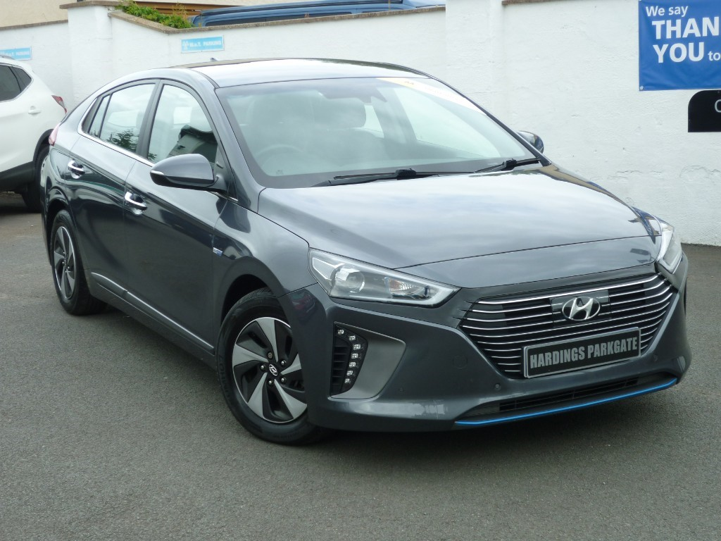 used Hyundai Ioniq PREMIUM SE + BALANCE OF HYUNDAI WARRANTY used cars in wirral-cheshire