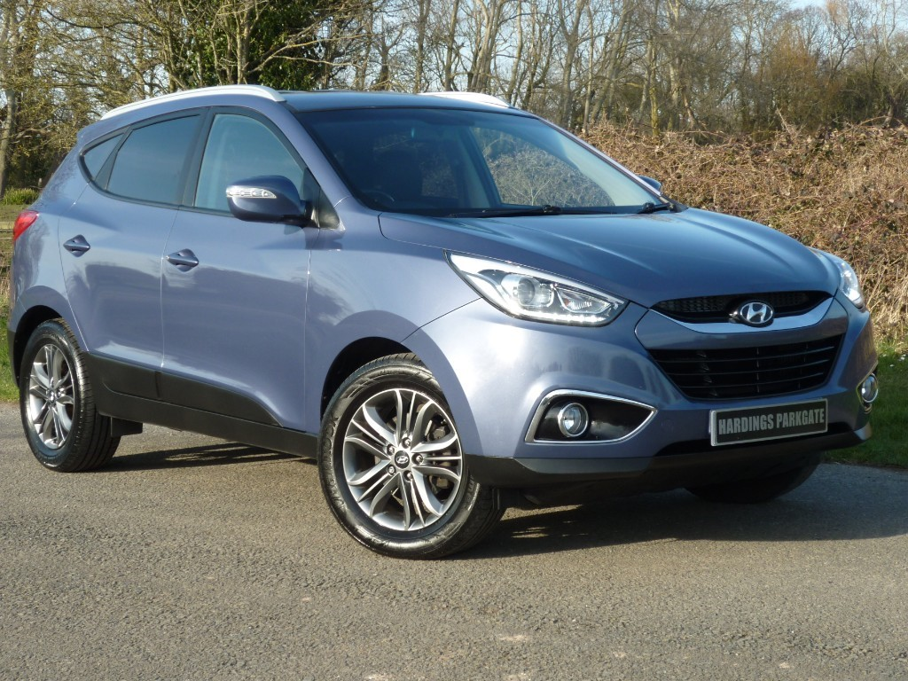 used Hyundai ix35 CRDI SE NAV + AA WARRANTY used cars in wirral-cheshire