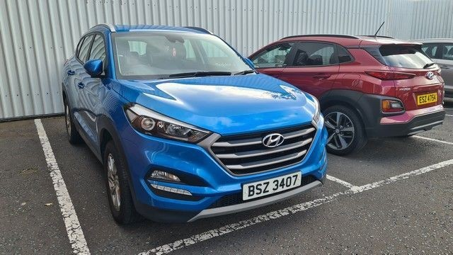 used Hyundai Tucson GDI SE NAV BLUE DRIVE WITH 2 YEARS FREE SERVICING* used cars in wirral-cheshire