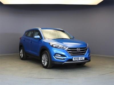 used Hyundai Tucson CRDI SE NAV BLUE DRIVE in wirral-cheshire
