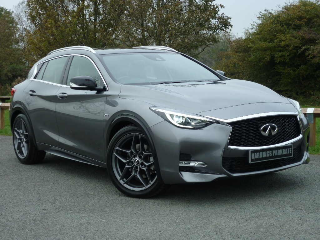 used Infiniti Q30 SPORT IN TOUCH NAV DCT AWD AUTO [GLASS ROOF PACK] in wirral-cheshire