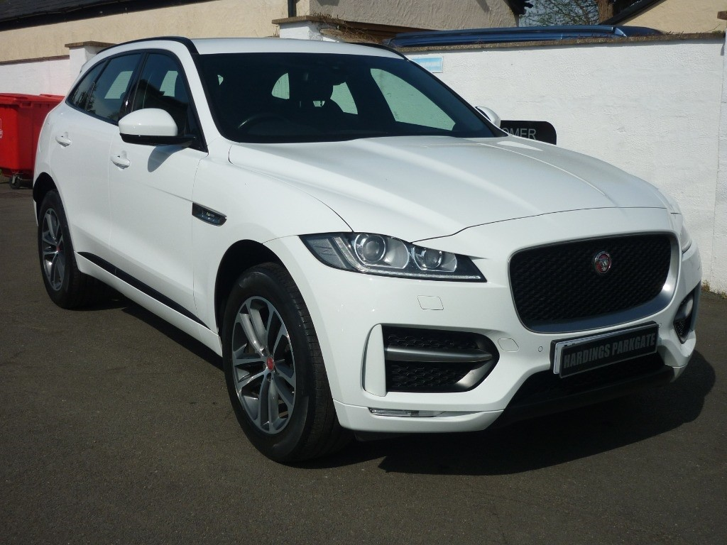 used Jaguar F-Pace R-SPORT AWD AUTO in wirral-cheshire
