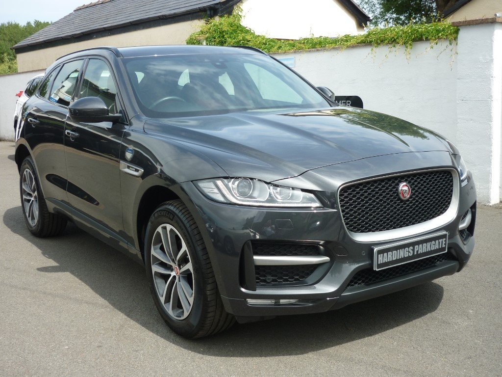 used Jaguar F-Pace R-SPORT AUTO used cars in wirral-cheshire