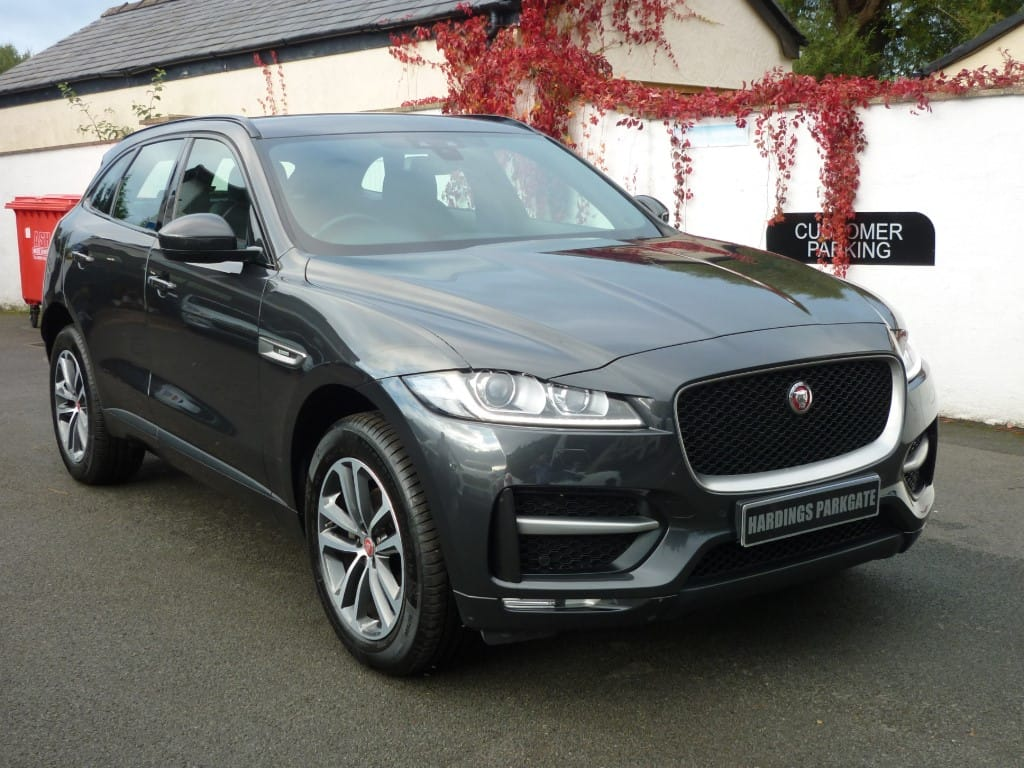 used Jaguar F-Pace R-SPORT AUTO 2 YEARS FREE SERVICING* used cars in wirral-cheshire