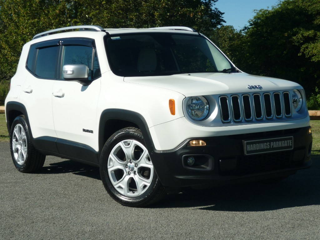 used Jeep Renegade M-JET LIMITED in wirral-cheshire