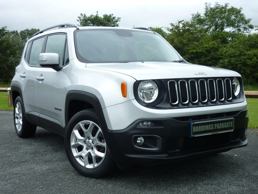 used Jeep Renegade LONGITUDE in wirral-cheshire