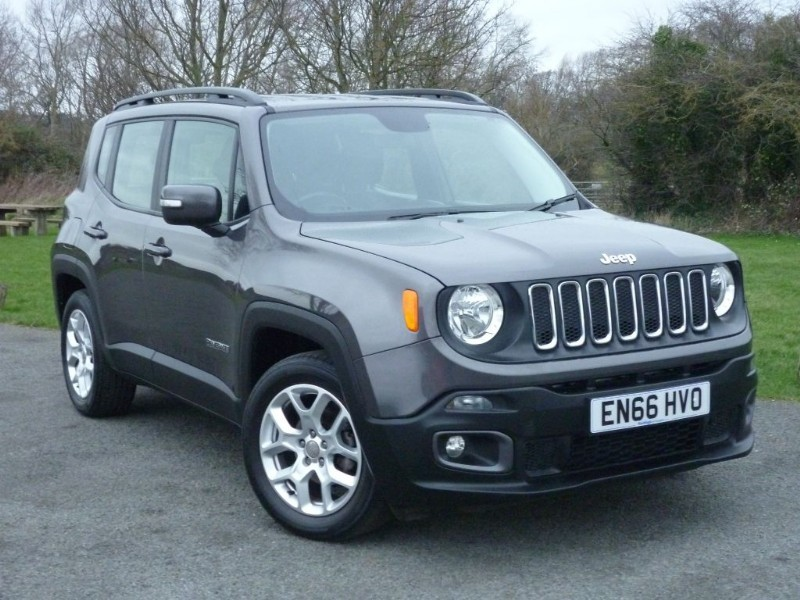 used Jeep Renegade LONGITUDE MULTIAIR AUTO in wirral-cheshire