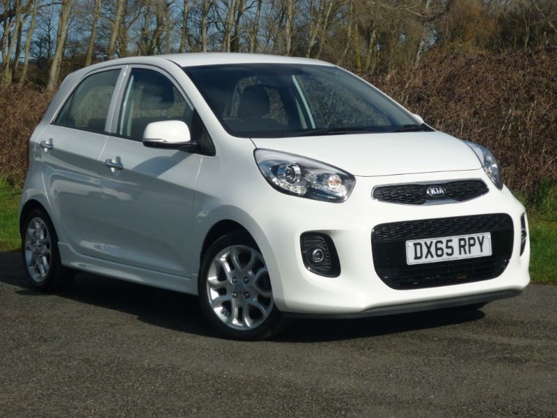 used Kia Picanto 3 AUTO in wirral-cheshire