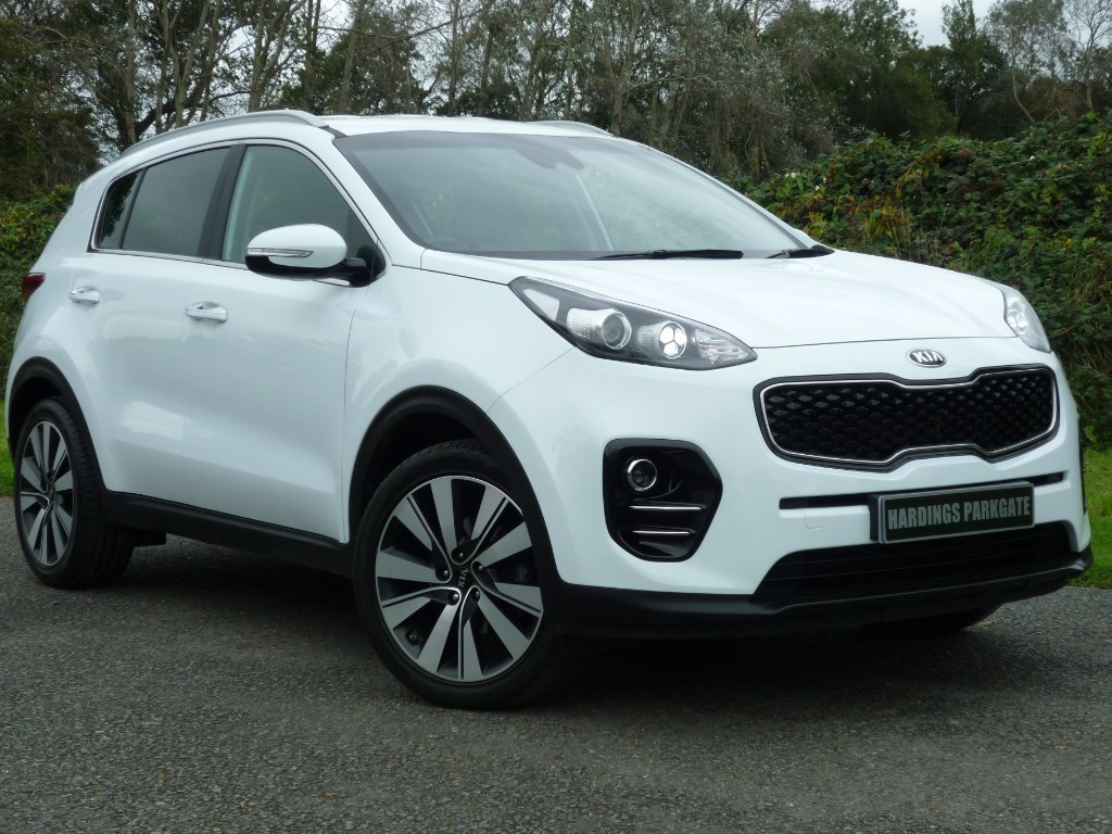used Kia Sportage CRDI 3 ISG in wirral-cheshire