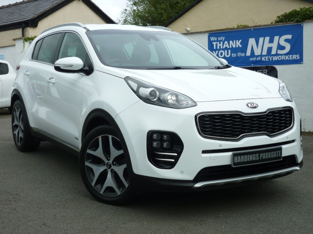 used Kia Sportage GT-LINE LEATHER + NAV + BALANCE KIA WARRANTY used cars in wirral-cheshire