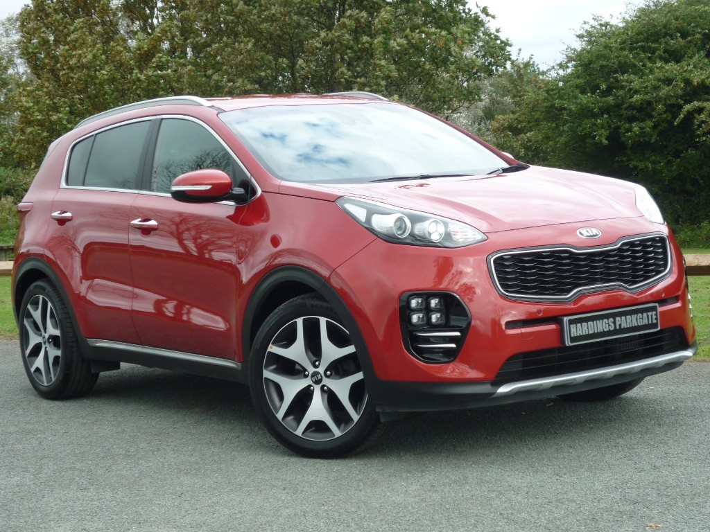 used Kia Sportage CRDI GT-LINE EDITION ISG in wirral-cheshire