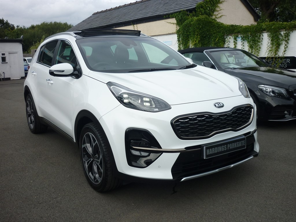 used Kia Sportage CRDI GT-LINE S ISG AUTO [PANORMAIC] in wirral-cheshire