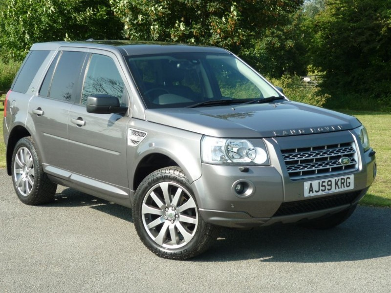 used Land Rover Freelander TD4 HSE BLACK LEATHER NAVIGATION in wirral-cheshire