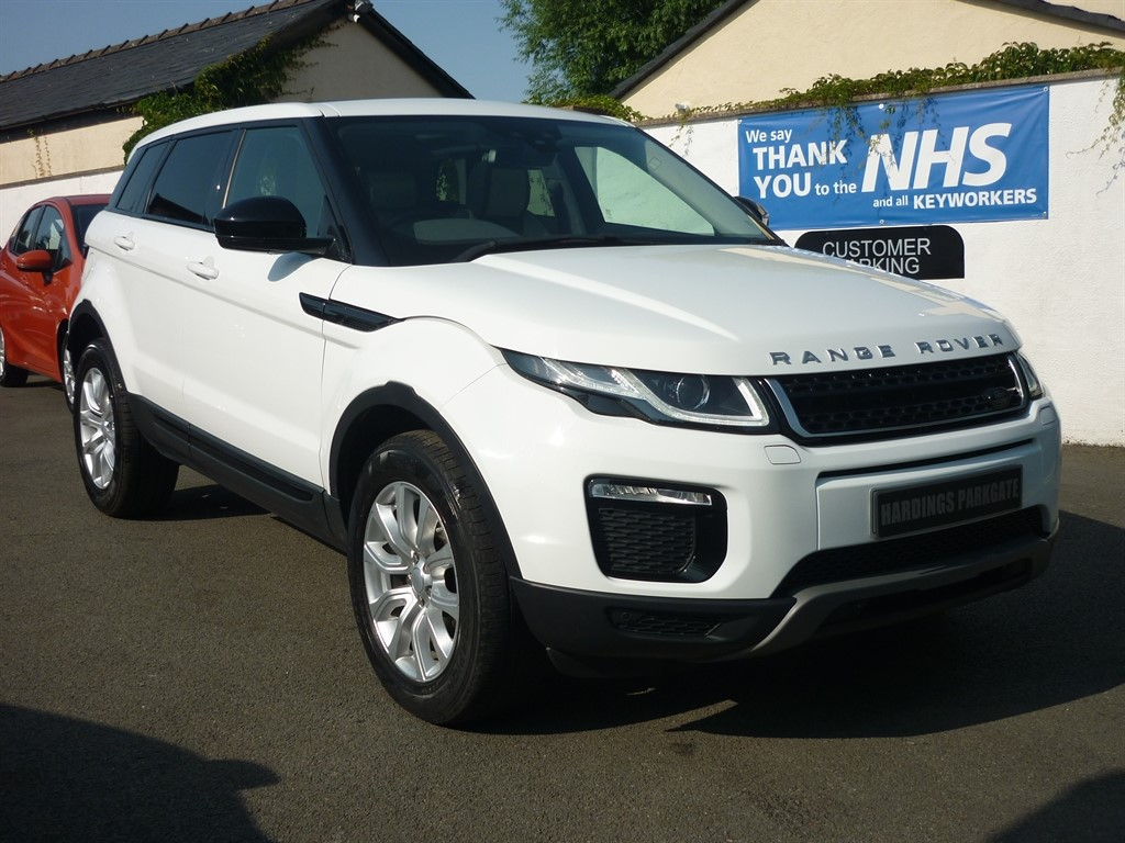 used Land Rover Range Rover Evoque TD4 SE TECH AUTO AWD [PANORAMIC ROOF] used cars in wirral-cheshire