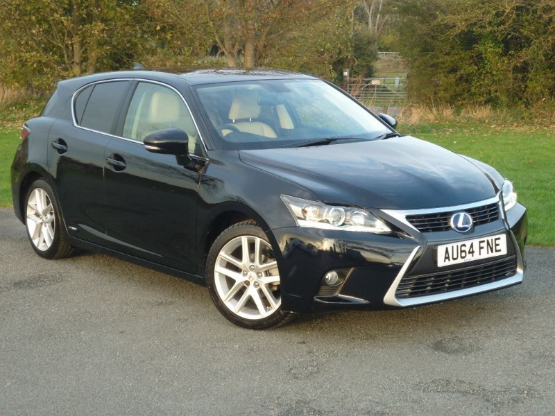 used Lexus CT 200h LUXURY in wirral-cheshire