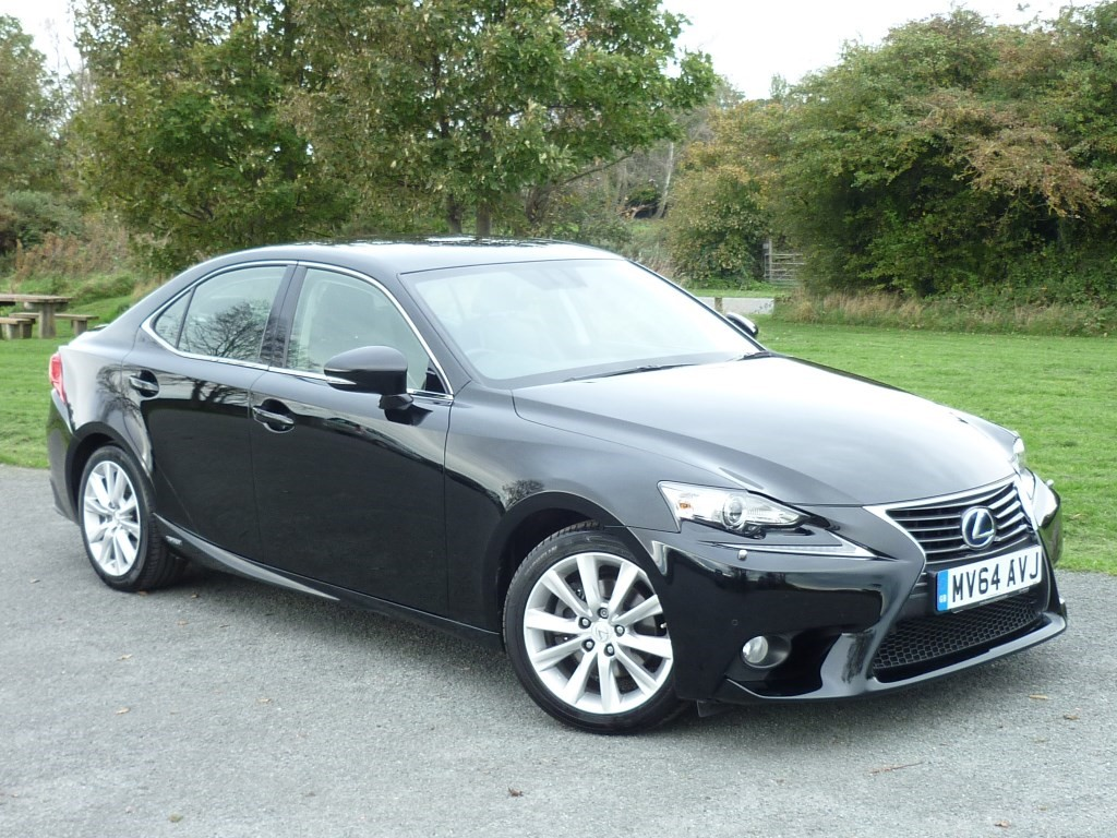 used Lexus IS 300h 300H EXECUTIVE EDITION in wirral-cheshire