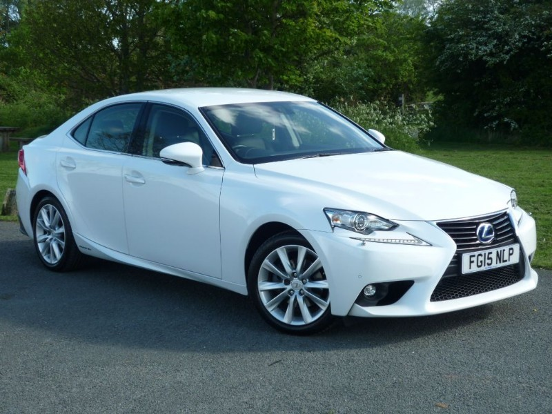 used Lexus IS 300h EXECUTIVE EDITION HYBRID in wirral-cheshire