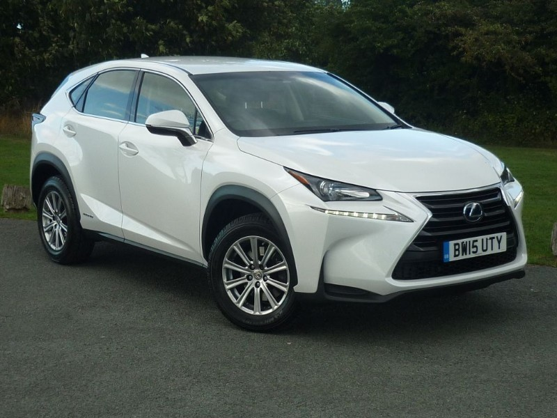used Lexus NX 300h S [NAV] HYBRID in wirral-cheshire
