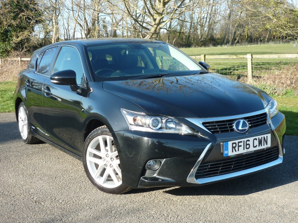 used Lexus CT 200h LUXURY HYBRID in wirral-cheshire