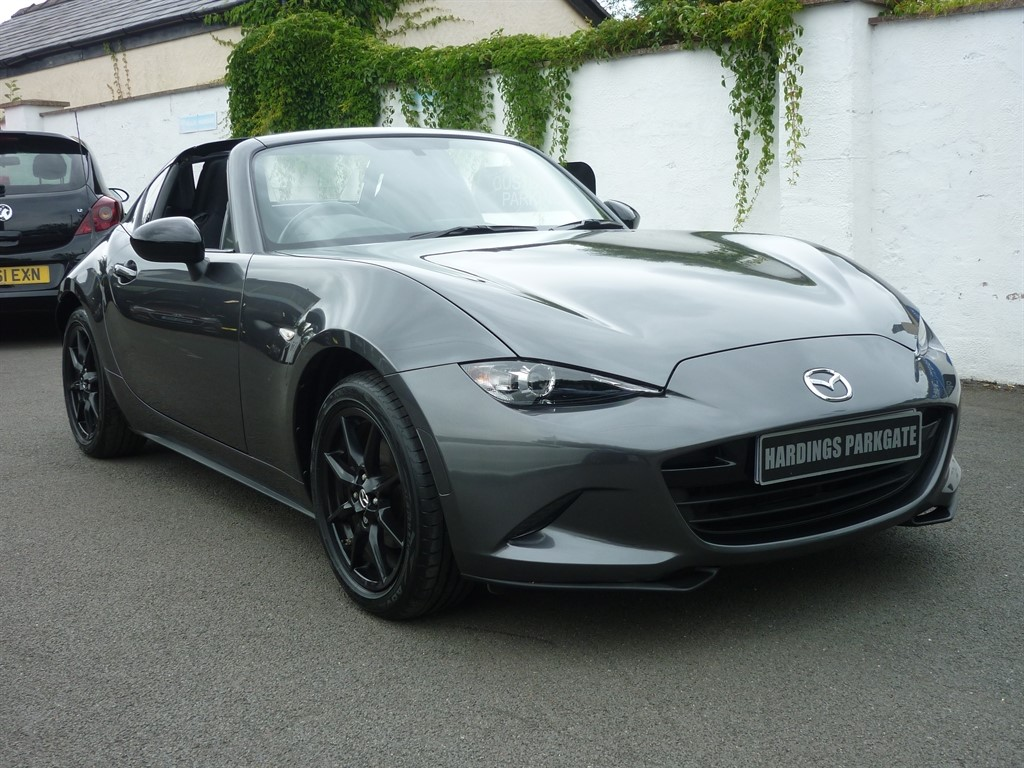used Mazda MX-5 RF SE-L NAV PLUS 2 YEARS FREE SERVICING* used cars in wirral-cheshire