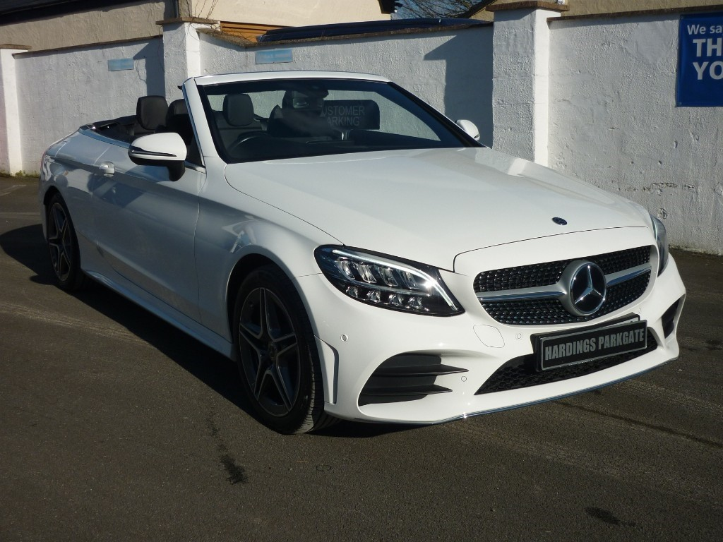 used Mercedes 200 C  AMG LINE AUTO CONVERTIBLE used cars in wirral-cheshire