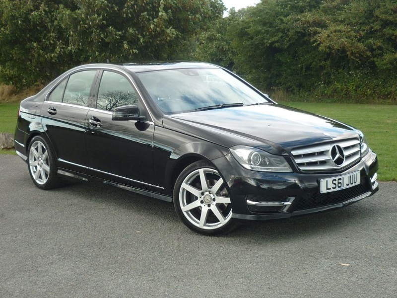 used Mercedes C180 BLUEEFFICIENCY SPORT EDITION 125 AUTO in wirral-cheshire