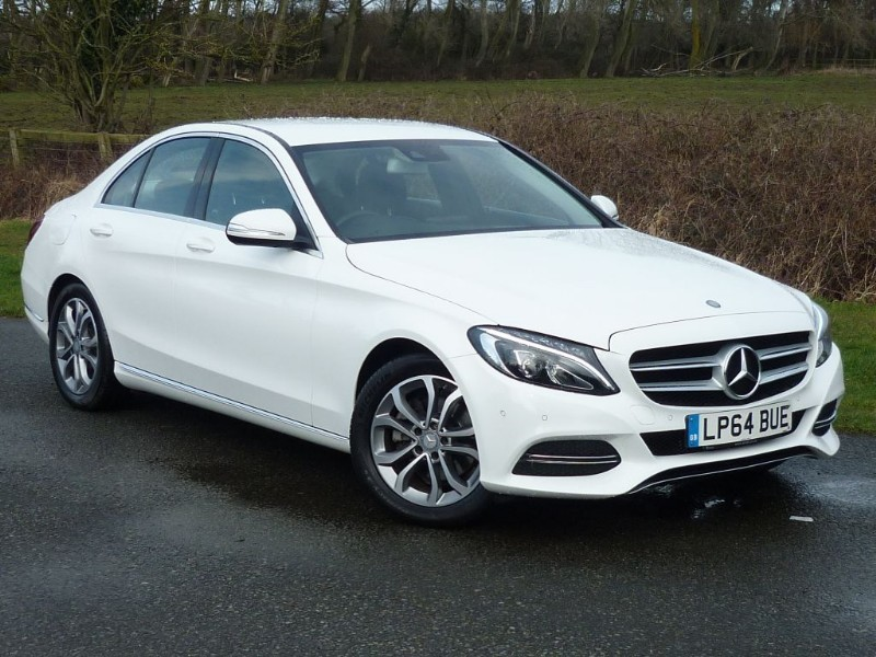 used Mercedes C220 BLUETEC SPORT [NAV] WITH 1 YEAR FREE AA MEMBERSHIP** in wirral-cheshire