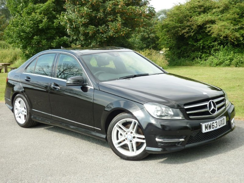 used Mercedes C220 CDI AMG SPORT EDITION PREMIUM PLUS in wirral-cheshire