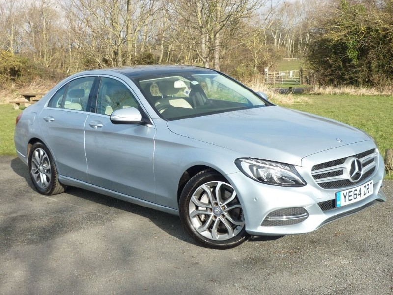used Mercedes C250 BLUETEC SPORT PREMIUM AUTO WITH 1 YEAR FREE AA MEMBERSHIP** in wirral-cheshire