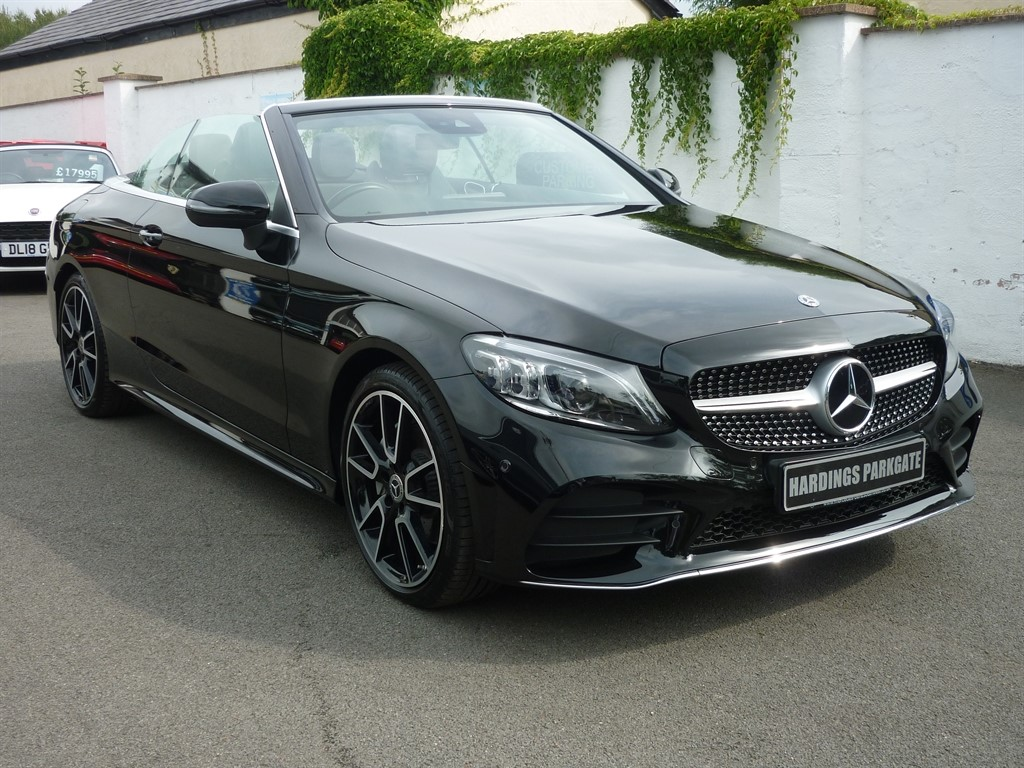 used Mercedes C200 C CLASS AMG LINE PREMIUM AUTO CONVERTIBLE in wirral-cheshire