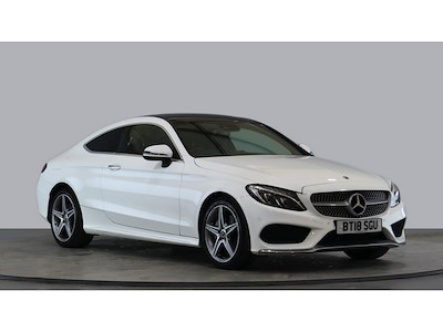 used Mercedes C200 C AMG LINE PREMIUM COUPE AUTO [SUNROOF] in wirral-cheshire