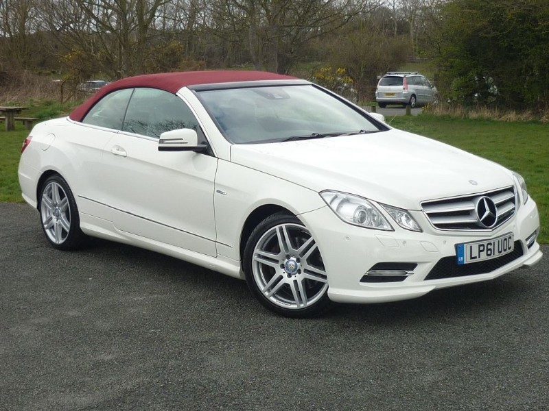 used Mercedes E220 CDI BLUEEFFICIENCY SPORT CONVERTIBLE AUTO in wirral-cheshire