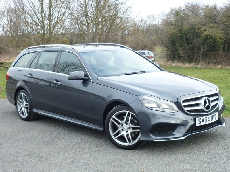 used Mercedes E220 BLUETEC AMG LINE [NAV] WITH 1 YEAR FREE AA MEMBERSHIP** in wirral-cheshire