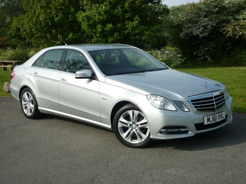 used Mercedes E220 CDI BLUEEFFICIENCY EXECUTIVE SE in wirral-cheshire