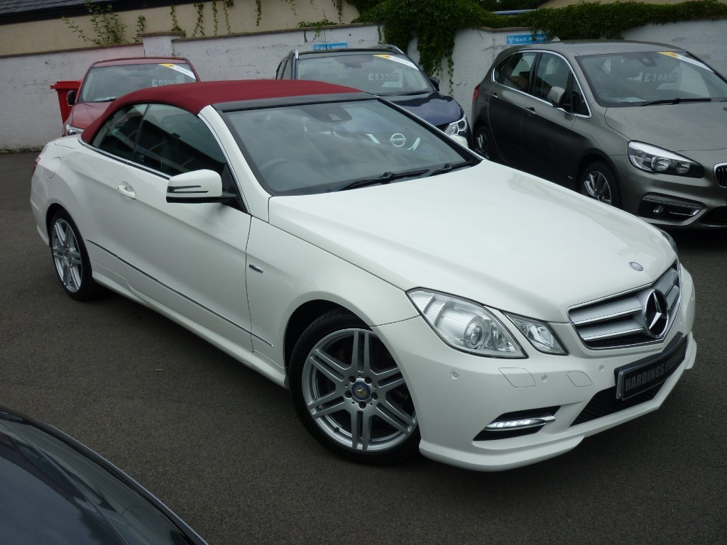 used Mercedes E220 CDI BLUEEFFICIENCY SPORT AUTO in wirral-cheshire